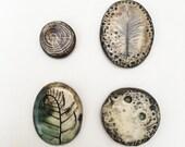 Reserved for sassafrasjewels Ceramic Cabochons