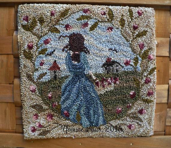 Punch Needle Embroidery Pattern U0026#39;Going Homeu0026#39;