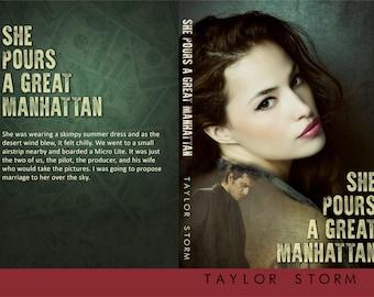 Custom Print Book Cover design.