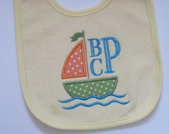 Personalized Baby Bib for that Handsome Little Fellow
