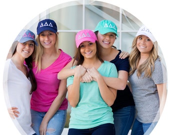 Sorority Hat, Active Wear, Baseball Cap Style, Stylish Cap for Working Out in the Gym. Weekend Warrior Cap, Back to College in Style