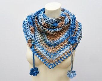 Crochet / Cotton Road Trip Scarf