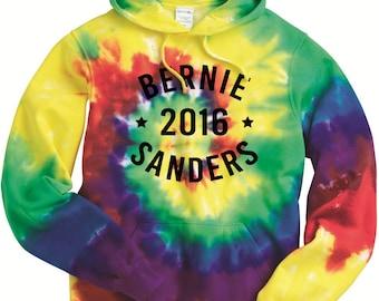 Tie Dye Bernie Sanders Hoodie