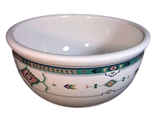 Mixing Bowls Set of 2, Vintage Pottery Mixing Bowls, Batter Bowls, Adirondack 6 Inch and 7 Inch, Studio Nova Y2201