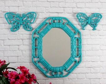 bamboo mirror  etsy, Home decor