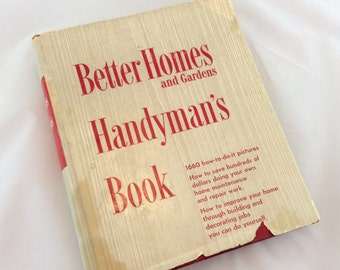 Vintage Better Homes Handyman  Book