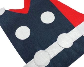 Adult / Big Kid Thor Costume Tunic
