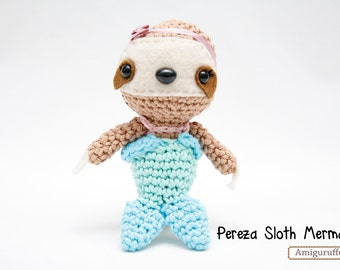 Pereza Sloth Mermaid