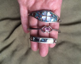 Silver braclets