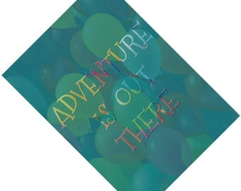 Passport Cover Case Holder -- Adventure is out there 2