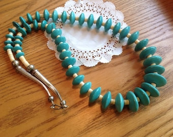 Genuine Native American Turquoise Necklace