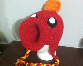 Fire Pea Shooter hat