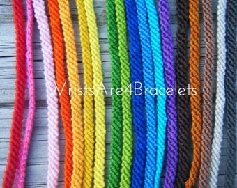 Solid Color Friendship Bracelet - Bestseller