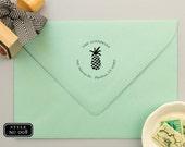 Custom Return Address Stamp, Unique Gift for Anniversary or New Home, Custom Rubber Stamp, Newlywed Gifts Return Address Stamp