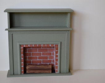 Fireplace with Shelf
