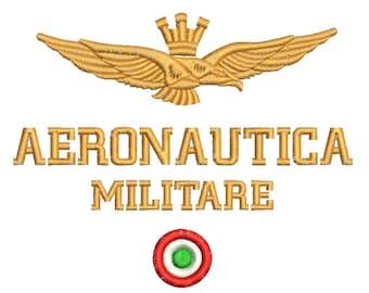 AERONAUTICA MILITARE embroidery - Machine Embroidery Designs -