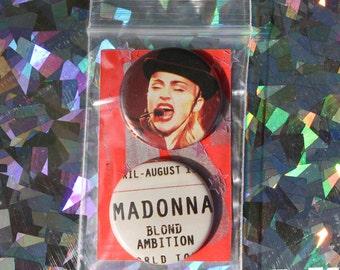 Madonna Button Set