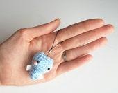 Amigurumi Bat Keychain - Crochet Animal Plush Toy, phone lanyard, Amigurumi Plush, Crochet Bat, amigurumi bat