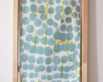 tea towel - dots and bars -