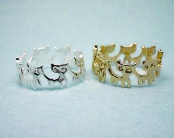happy cats ring
