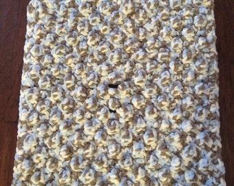 Crocheted Car Seat or Stroller Blanket