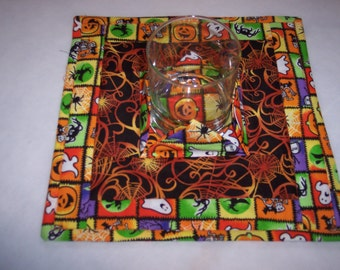 Halloween Candle Holder Mat
