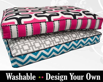 Modern Dog Bed with Insert - Design to your Style