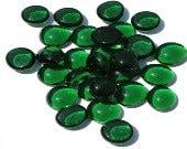 Spectrum System 96 COE Fusible Glass Pebbles SET/25 Green Translucent