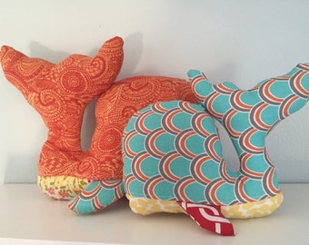 Ready to Ship - Whale Soft Toys - Set of Two - Baby - Toddler - Softies -Gender Neutral