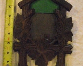 Cuckoo Clock Carving Picture Frame