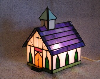 Nightlight - Stained Glass Church