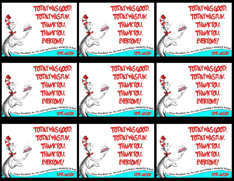 Dr Seuss Invitations as good invitation layout
