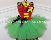 Robin Tutu Dress/ Robin Costume