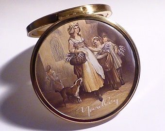 Vintage Yardley compacts compact mirrors for sale gift boxed gifts bridesmaids presents