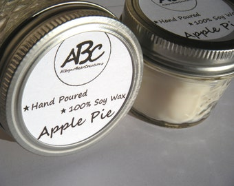 Scented Soy Candle - Apple Pie