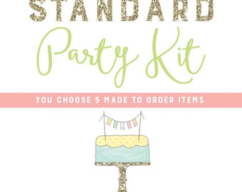 Made to Order Matching Standard Party Kit - Pick 5