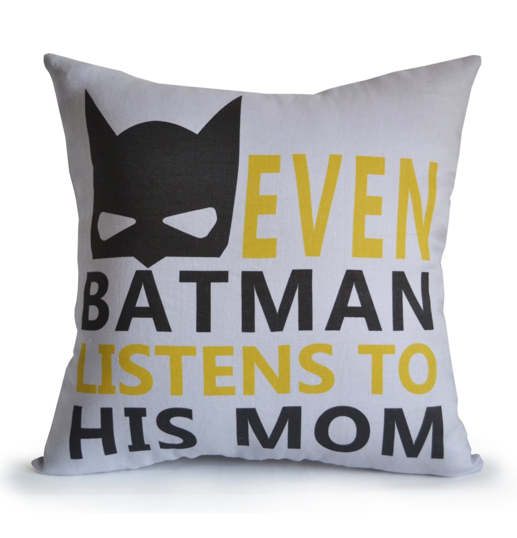 nursery decor boy room pillow cover kids room decor batman - 🔎zoom