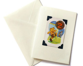 greeting card, vintage playing card