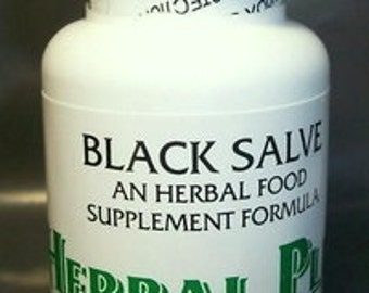 Black Salve Tablets by Herbal Plus, Alternative Health for People & Animals