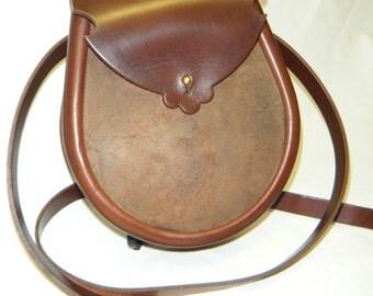 Handmade Brown Leather Earn Sporran