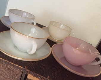 Acropal Cups and Saucers