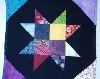 Colorful Star Pot Holder