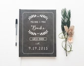 Wedding Guest Book Custom Wedding Guest Book Chalkboard. Wedding Memory Book. Guest Book for Wedding Chalkboard Wedding Book Rustic Wedding
