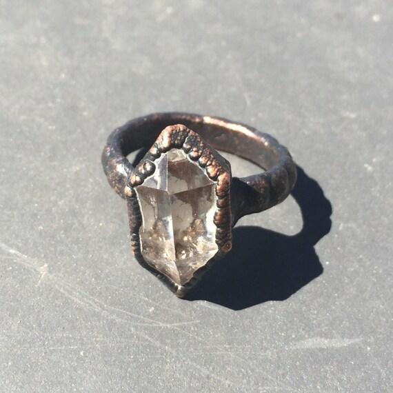 Herkimer Diamond Ring Quartz Ring Boho Engagement Ring. Gents Gold Engagement Rings. Net Worth Engagement Rings. Conflict Free Diamond Engagement Rings. Stubby Finger Engagement Rings. Name Inside Wedding Rings. Rough Diamond Rings. Exotic Wedding Wedding Rings. Hop Engagement Rings