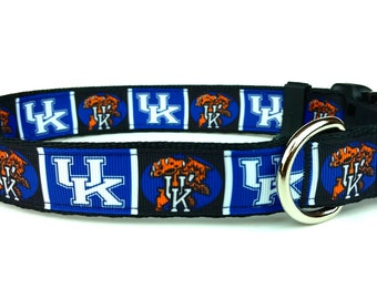 Kentucky Wildcats Dog Collar