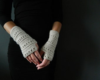 51# Crochet fingerless gloves pattern - Instant download