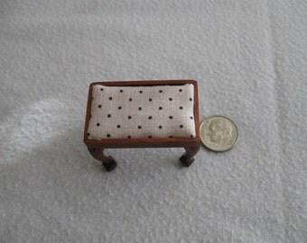 Miniature foot stool