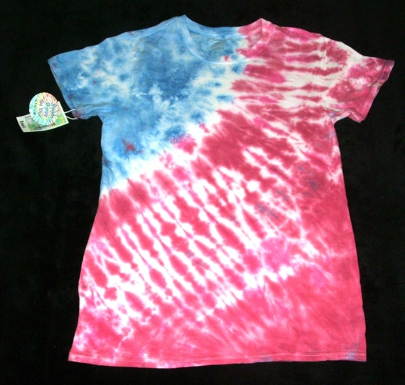Hippie Dippy Tie Dye Red White And Blue Small By Smiley154728