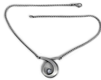 Necklace Silver Jewelry Cubic Zirconia