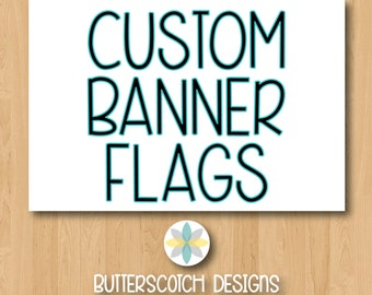 Custom Banner Flags
